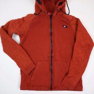 Nike Sportswear Modern Dark Cayenne zip up hoodie